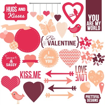 Valentines Day Clip Art Commercial Use