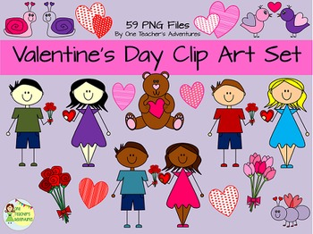 Valentine's Day Clip Art Pack