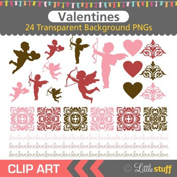 Valentine's Day Clipart, Valentine Clip Art, Cupid Graphic