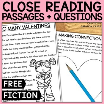 Valentine's Day Close Reading Passage