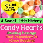Valentine's Day Close Read- Informational Text and Text-Based Activities
