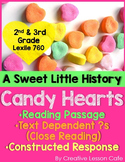 Valentine's Day Close Read- Informational Text and Text-Ba