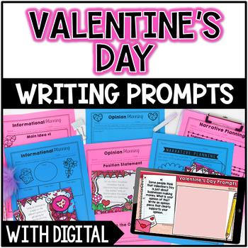 Valentine's Day Common Core Writing: Opinion, Informative,