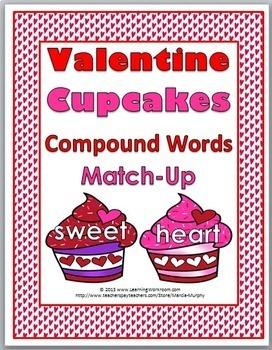 Compound Words - Valentine's Day Literacy Activity