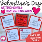 Valentine's Day Conversation Starters and Writing Prompts
