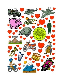 #19 Valentine's Day Count the Number of Hearts Printout