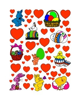 #9 Valentine's Day Count the Number of Hearts Printout