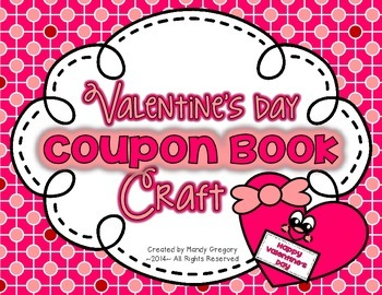 Valentine's Day Coupon Book Craft