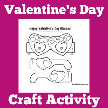 Valentines Day Craft | Valentines Day Activity