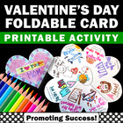 Valentine's Day Craft Card Foldable Craftivity
