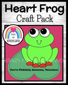 Valentine's Day Craft: Heart Toad
