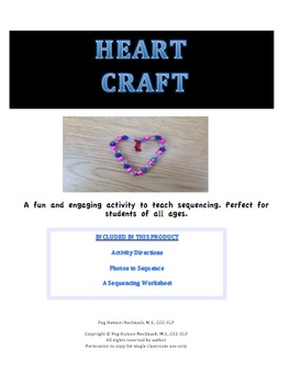Valentine's Day Craft: Sequencing and Retelling