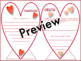 Valentine's Day Craftivity-Analyzing Song Lyric & Figurati