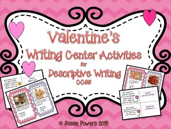 Valentines Day Creative Writing Centers Activities