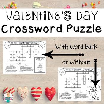 Valentine's Day Crossword Puzzle