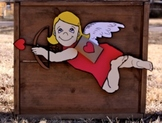 Valentine's Day Cupid Art Project