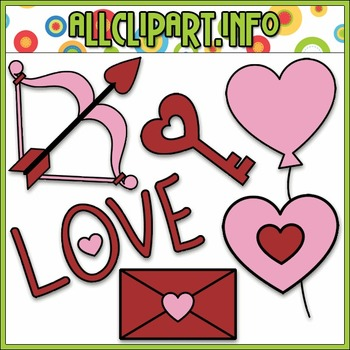 BUNDLED SET - Valentine's Day Doodles 2 Clip Art & Digital