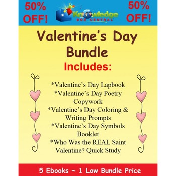 Valentine's Day EBOOK Bundle - 50% OFF