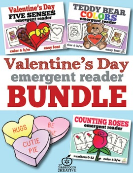 Valentine's Day Emergent Readers Bundle