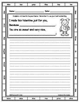 Valentine's Day FREEBIE ~ Writing a Valentine's Day Poem