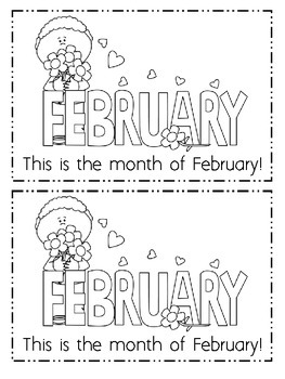 Valentine's Day, February, and Groundhog Day Emergent Read