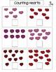 Valentine's Day File Folder Set/ shapes, patterns, alphabe