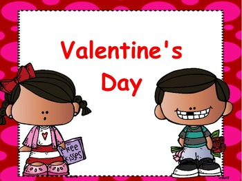 Valentine's Day Flipchart & Worksheets