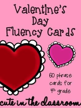 Valentine's Day Fluency Phrases