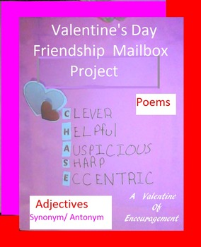 Valentine's Day Friendship Mailbox: Poems Synonyms Theme S