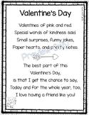 Valentines Day - Friendship Poem for Kids