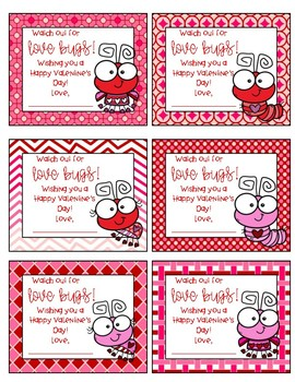 Valentine's Day Gift Tags (for parent helpers, office staf