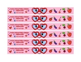 Valentines Day Healthy Snack Fruit Mask wrap for Healthy C