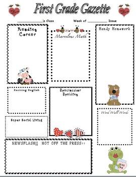 Valentine's Day Home Newsletter