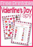 I Spy Counting: Valentine's Day