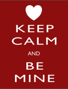 Valentine's Day Keep Calm Print