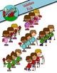 Valentine's Day Kids Clipart / Graphics