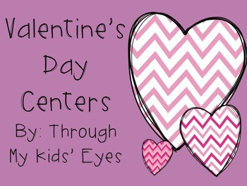 Valentine's Day Language Arts Centers