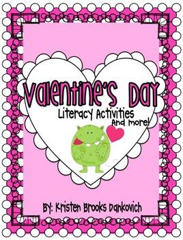 Valentine's Day Literacy MEGA PACK!