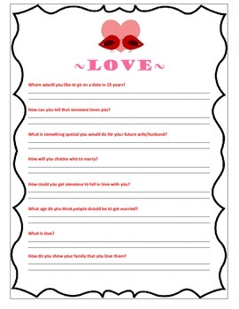 Valentine's Day Love Questions