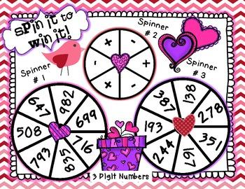 Valentine's Day Math Extravaganza-Free Game