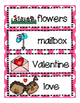 Valentines Day Math and Literacy centers for Pre-K, K and