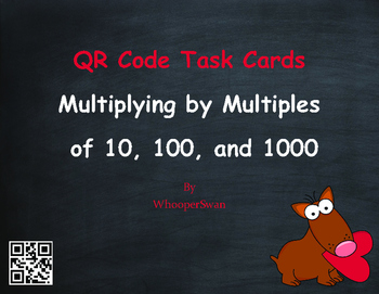Valentines Day Math: Multiplying by Multiples of 10, 100,