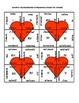 Valentine's Day Math Puzzle - Algebra -  Multiplication of