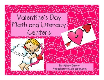 Valentine's Day Math and Literacy Centers for the Common C