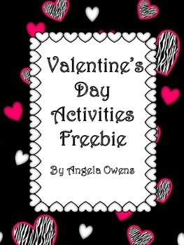 Valentine's Day Math and Literacy Freebie