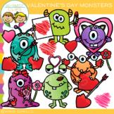 Monster Valentine's Day Clip Art