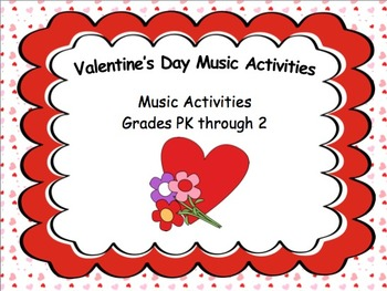 Valentine's Day Music Activities (Powerpoint)