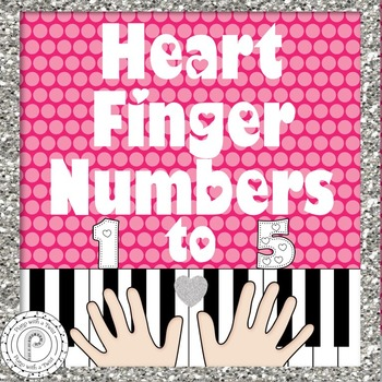 Valentine's Day Music Game: Piano Finger Numbers