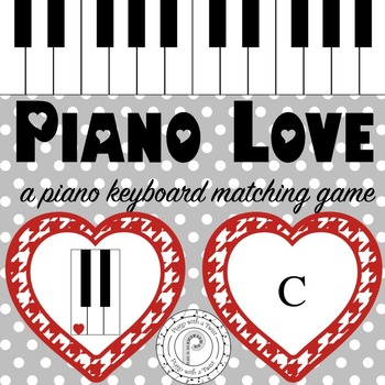 Valentine's Day Music Game: Piano Keyboard