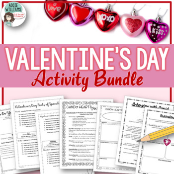 Valentine's Day Pack - ELA Activities